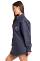 Personalized Embroidered Monogram Oversized Oxford Shirt