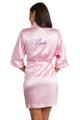 Personalized Glitter Print Bridesmaid Robe