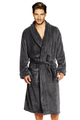 Zynotti's Personalized Men's Velour Shawl Robe-Times Style