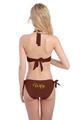 Custom Glitter Print Wifey Bikini Swimwear