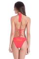 Custom Glitter Print Bride Bikini - String Halter and Sash Tie Bottom