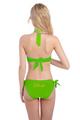 Custom Glitter Print Bride Bikini Swimwear