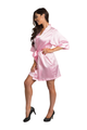 Personalized Embroidered Monogram Bridesmaid Satin Robe