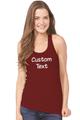 Customize Your own Tank Top-Rhinestone