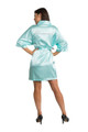 Zynotti's Rhinestone Bridesmaid Satin Robe - Available in 25 Robe Colors