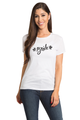 Zynotti Bride Bachelorette Engagement Party White Tee Shirt Top