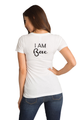 Zynotti Women I am Bae Matching Couple Honeymoon White Tee Shirt Top
