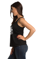 Zynotti Women's Babe of Honor Maid of Honor Bachelorette Engagement Party Black Tank Top