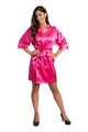 Zynotti's Custom Rhinestone Bridesmaid Satin Robe