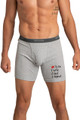 Zynotti's To Do Wife Rest Repeat Gray Men's Boxer Brief