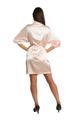 Zynotti's Personalized Rhinestone Initial Satin Robe