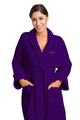 Zynotti's Women's Personalized Embroidered Velour Shawl Robe