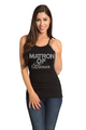 Zynotti's Big Bling Matron of Honor Ribbed Tank