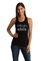 Zynotti's Lace Tank with Rhinestone Big Bling Mother of the Bride
