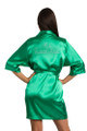 Emerald Satin Robe