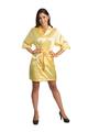 Zynotti yellow satin robe