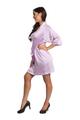 Zynotti lavender kimono satin robe