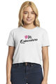 Zynotti quinceanera rose white cropped tee