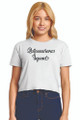 Zynotti Quince Squad White Crop Tee