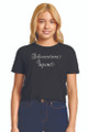 Zynotti Quince Squad Black Crop Tee