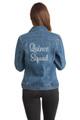 Custom Embroidered Jean Jacket