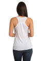 Bride to Be Tank Top - Heart Design - Back Crop - White