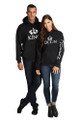 King and Queen Matching Hoodie Set