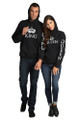 King and Queen Couples Matching Sweatshirt Set