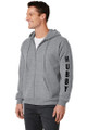 Hubby Couples Matching Full-Zip Sweatshirt Hoodie Set