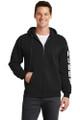 Hubby Full-Zip Sweatshirt Hoodie