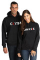Bonnie and Clyde Couples Matching Pull-Over Sweatshirt