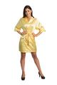 Custom Rhinestone Yellow Robe