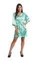 Personalized Glitter Mint Green Robe