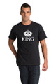 Matching Couples King T-Shirt Sets