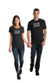 Matching Couple Wife and Hubz T-Shirt Set