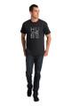 Black Hubs T-Shirt front