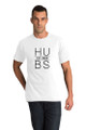 White Matching Hubs and Wife T-Shirt Set