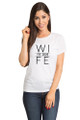 White Hubs and Wife T-Shirt Set