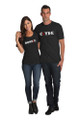 Black Couples Matching Bonnie and Clyde T-Shirt Set