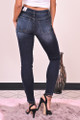 Zynotti mid-rise jeans