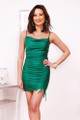 bodycon green dress