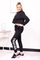 personalized black jogger pant