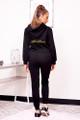 personalized black hoodie
