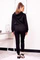 black hoodie set