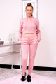 pink hoodie jogger set