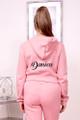 custom pink jogger set