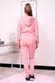 personalized pink hoodie set