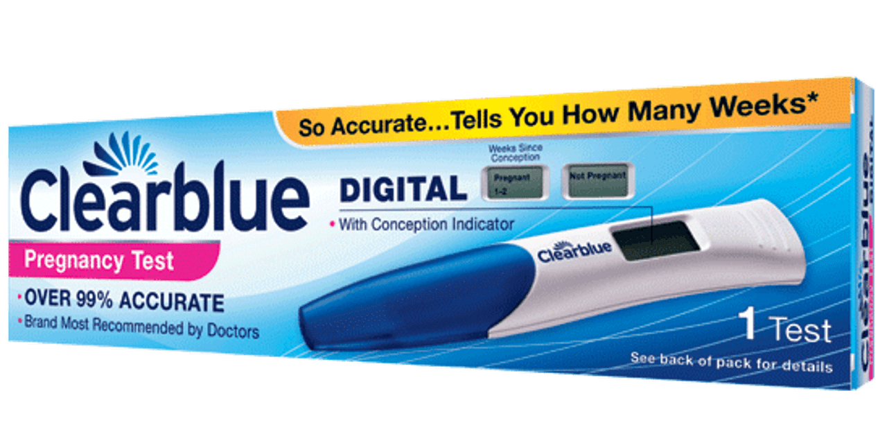 How accurate is clear blue digital