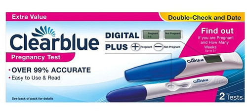 Clearblue Pregnancy Test - Double Check & Date