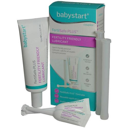 Babystart FertilSafe Plus Fertility Friendly Lubricant 75ml with Applicators